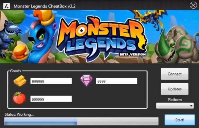 monster legends hack download free